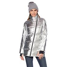 G by Giuliana Water-Resistant Down Puffer Coat