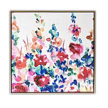 Gallery 57 Happy Garden 29x29 Floating Canvas