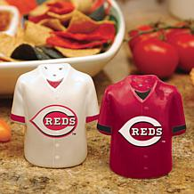 Gameday Ceramic Salt & Pepper Shakers - Cincinnati Reds