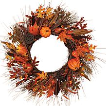 "Gerson 30"" Autumn Fields Wreath"
