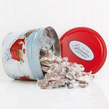 Giannios 5.5 lbs. Assorted Chocolates in Santa Sleigh Tin