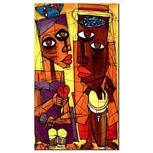 Al Sol del Sentimiento' Canvas Art Giclee Print