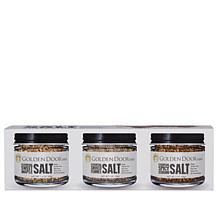 Golden Door 3-pack of Gourmet Salts