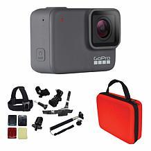 GoPro Hero 7 Silver Action Camera Bundle