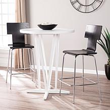 Havish Bar Table - White