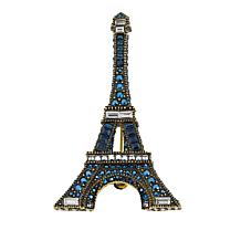 "Heidi Daus ""Belle Tour Eiffel"" Crystal Pin"