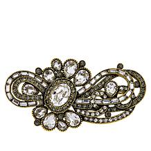 """Heidi Daus """"Classically Curated"""" Crystal Pin"""