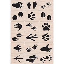 Hero Arts Ink 'n' Stamp Set - Animal Prints