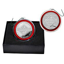 Highland Mint 2019 World Series Champions Silver Mint Coin Ornament