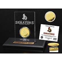 NHL Highland Mint Gold Coin Etched Acrylic