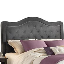 Hillsdale Nailhead Fabric Headboard - Trieste Queen