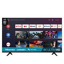 """Hisense 75"""" 4K UHD Smart TV w/Google Assistant, Voice Remote & Voucher"""