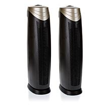 Hunter 2-pack Large HEPAtech Air Purifiers