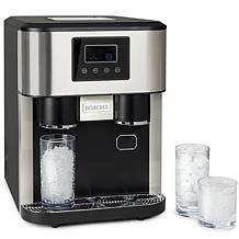 Igloo 33 lb. Dual Dispensing Ice Maker and Crusher