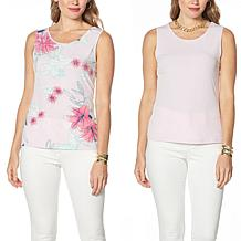 IMAN Global Chic 2-Pack Tanks