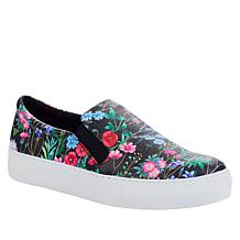 IMAN Global Chic Floral Print Slip-On Sneaker
