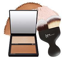 IT Cosmetics Hello Cheekbones Contouring Palette with Brush