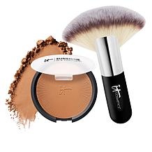 IT Cosmetics Sunshine in a Compact Matte Anti-Aging Bronzer w/Brush