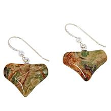 Jay King Sterling Silver Multi-Colored Pico Stone Drop Earrings