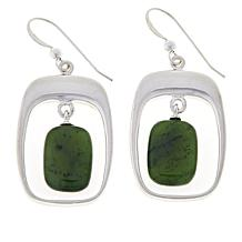 Jay King Sterling Silver Gemstone Drop Earrings