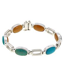 Jay King Reversible Gemstone Link Bracelet