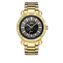 "JBW Men's ""562"" 12-Diamond Goldtone Bracelet Watch"
