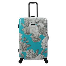 Jessica Simpson English Rose Hardside Spinner in Turquoise