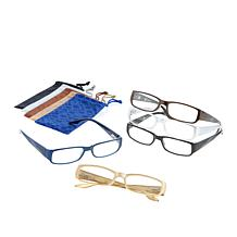 JOY 10pc SHADES Readers in Traditional Design Frames