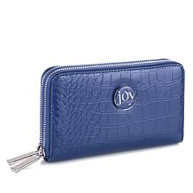 JOY E*Lite Croco-Embossed Couture Multi-Pocket Wallet with RFID