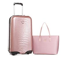 JOY E*Lite Hardside Luggage with RFID Handbag