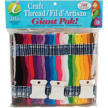Jumbo Value Pack of Cotton Craft Floss with 105 Skeins