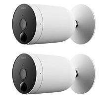 Kami 2-pack Wire-Free Battery Powered Outdoor Security Camera