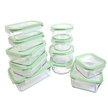 Kinetic 22-piece Glassworks Food Storage Set