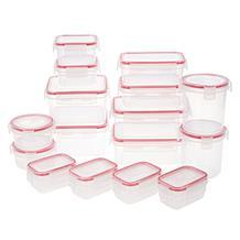 Komax 32-piece Leakproof Multi-Shape Food Storage Set