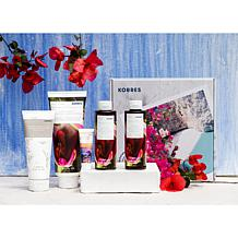 Korres 5-piece Bath and Body Collection