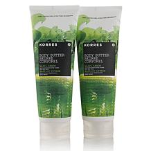 Korres Basil Lemon Body Butter Duo