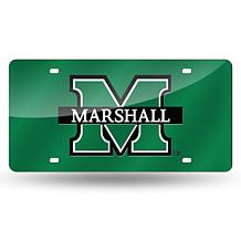 Laser Tag License Plate - Marshall University (Green)