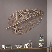 Lennyx Metal Feather Wall Sculpture