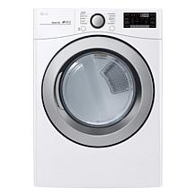 LG 7.4 Cu. Ft. Front Load Electric Dryer - White