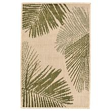 Liora Manne Terrace Palm Rug - Green