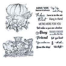Little Darlings Friends Afloat Country Friends Stamps
