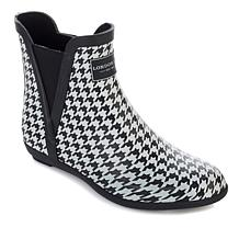 London Fog® PICCADILLY Pull-On Ankle Rain Boot