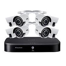 Lorex 4K UHD 8-Channel Security System w/2TB DVR & 8 UHD Cameras