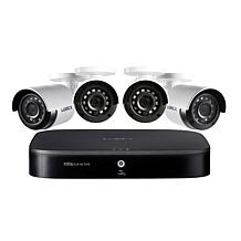 Lorex Full HD 8-Channel Security System w/1TB DVR & 4 HD Cameras