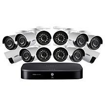Lorex HD 16-Channel Security System w/2TB DVR & 12 HD Cameras
