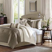 Madison Park Amherst Comforter Set King Natural