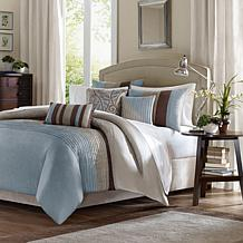 Madison Park Tradewinds Duvet Set Blue