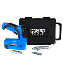 Magna Tools 3.6-Volt Rechargeable Staple and Nail Gun