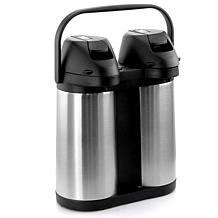 MegaChef Dual 1.9L Stainless Steel Airpot, Hot Water Dispenser for ...
