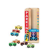 Melissa & Doug Stack-and-Count Parking Garage